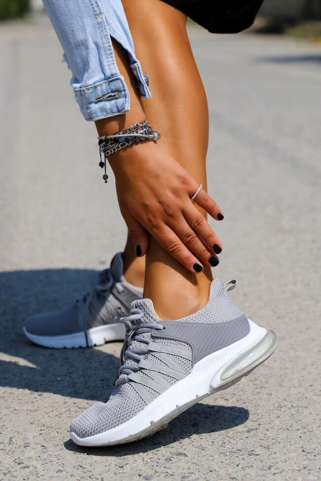 Αθλητικά Παπούτσια Μονόχρωμα
