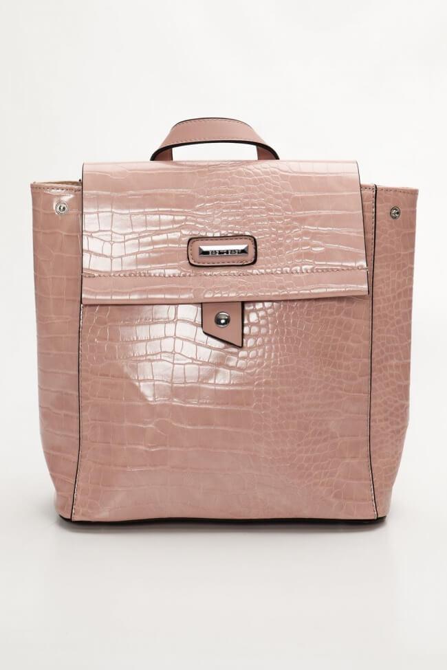 Backpack Δερματίνη Croco