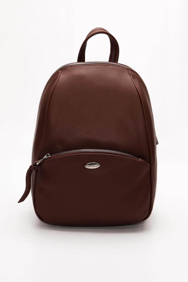 Backpack Δερματίνη David Jones