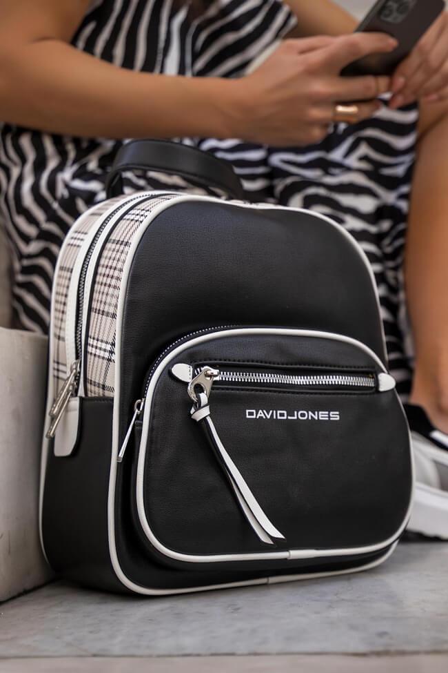Backpack Καρό David Jones