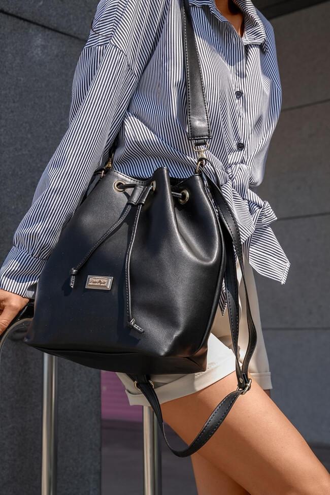 Backpack Πουγκί New Style Δερματίνη