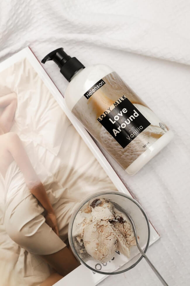 Body Milk Vanilla