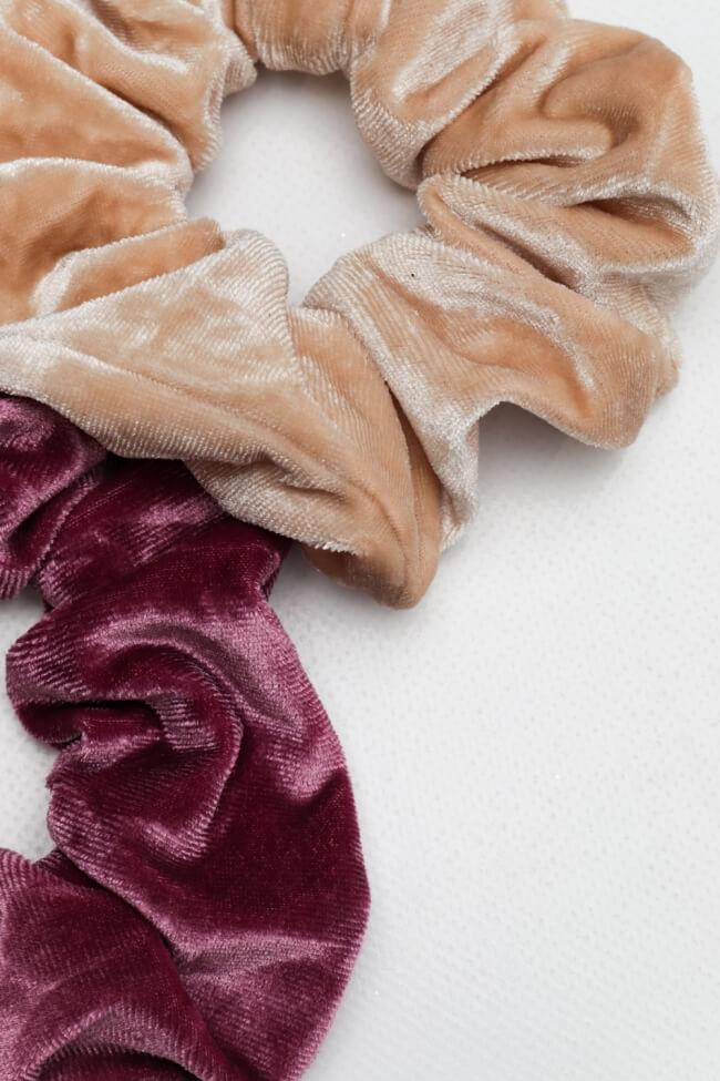 Combo Scrunchies Velvet