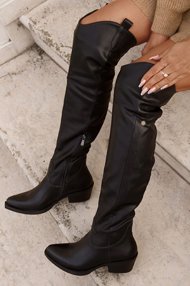 Cowboy Μπότες Over the Knee