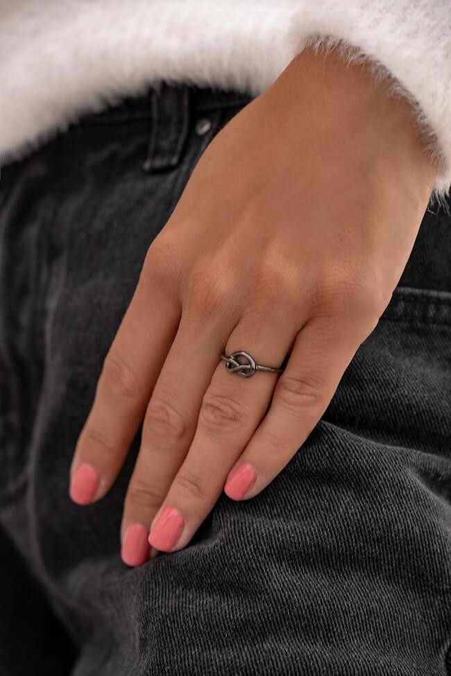 Δαχτυλίδι Ανοιχτό με Καρδιά