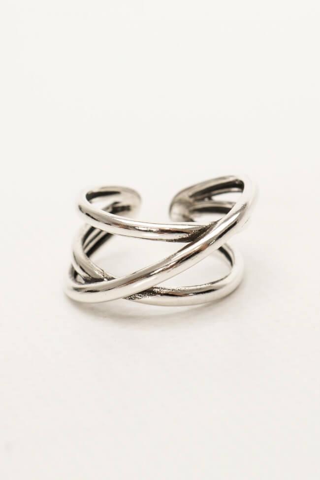 Δαχτυλίδι Διπλό Χιαστί