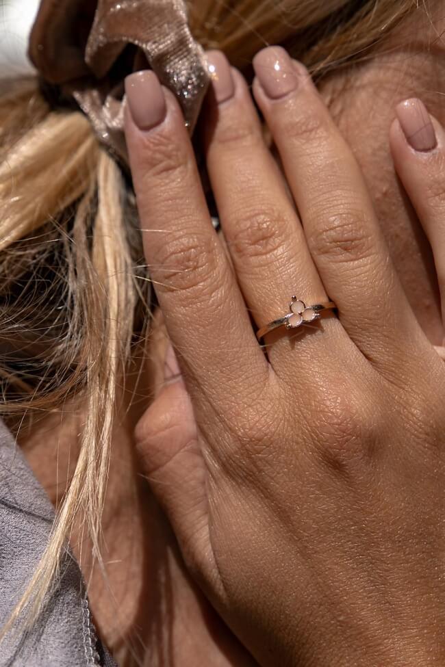 Δαχτυλίδι Λουλούδι
