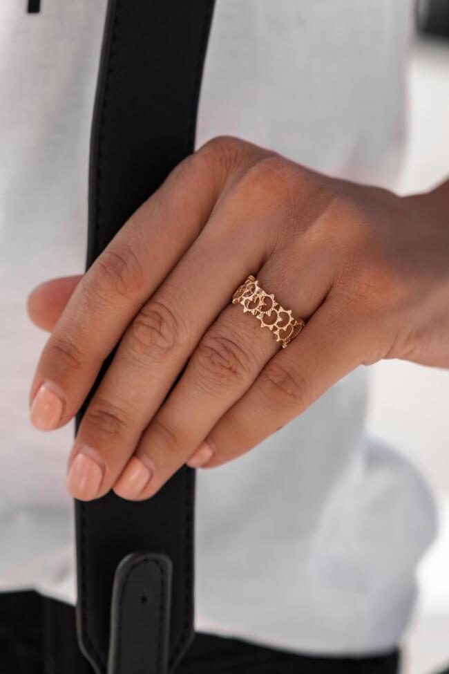 Δαχτυλίδι με Κενά