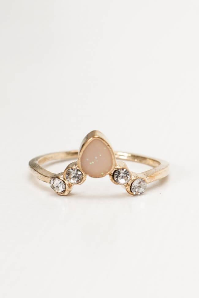 Δαχτυλίδι με Πέτρα & Strass