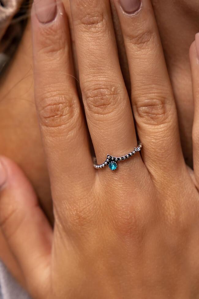 Δαχτυλίδι με Strass