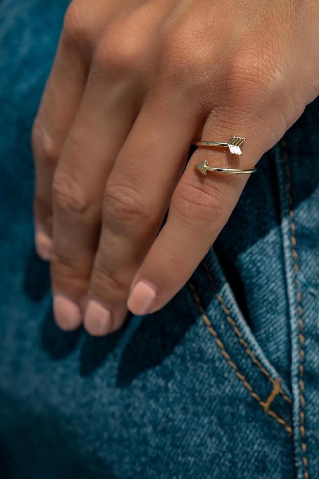 Δαχτυλίδι με Βέλος