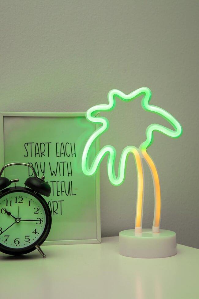 Διακοσμητικό Επιτραπέζιο Φωτιστικό LED Palm