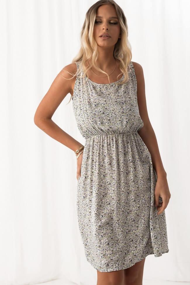 Φόρεμα Floral - Λευκό