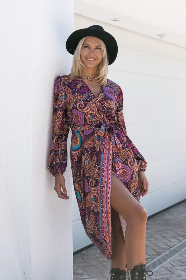 Φόρεμα Κρουαζέ Boho