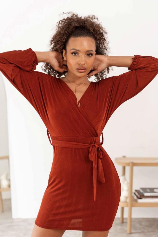 Φόρεμα Κρουαζέ με Ανοιχτή Πλάτη