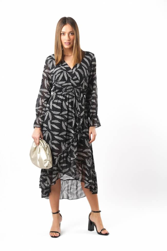 Φόρεμα Κρουαζέ με Print