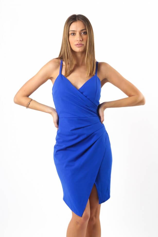 Φόρεμα Κρουαζέ με Σούρα