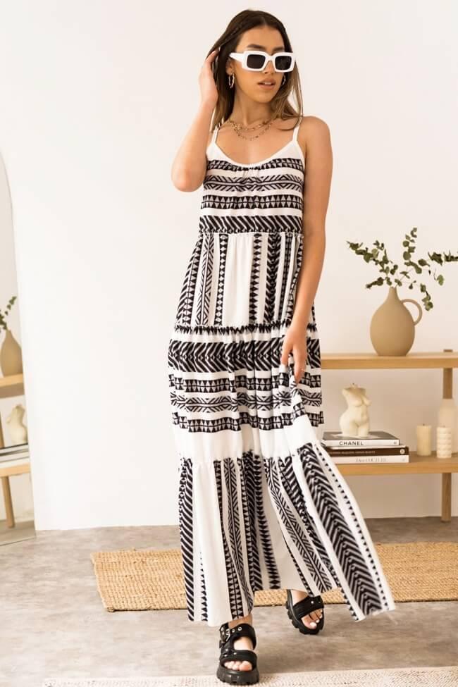 Φόρεμα Μακρύ Boho