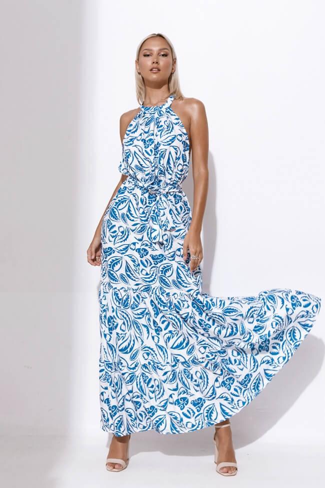 Φόρεμα Μακρύ Floral