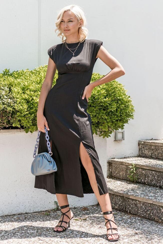 Φόρεμα Maxi χωρίς Μανίκια