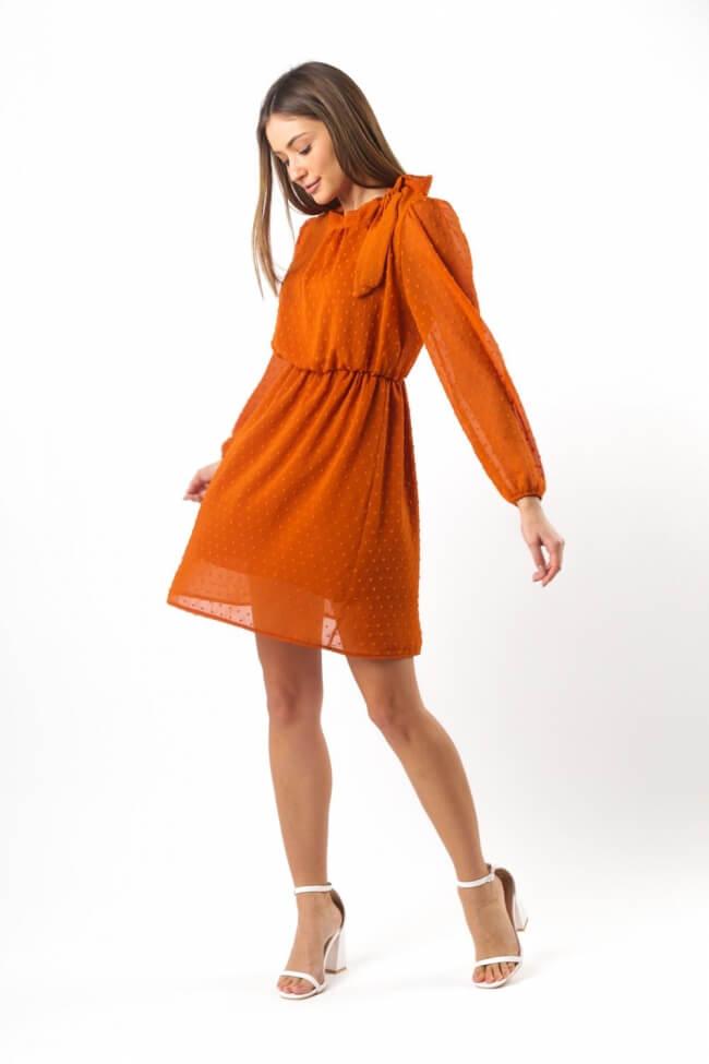 Φόρεμα με Δέσιμο στον Λαιμό