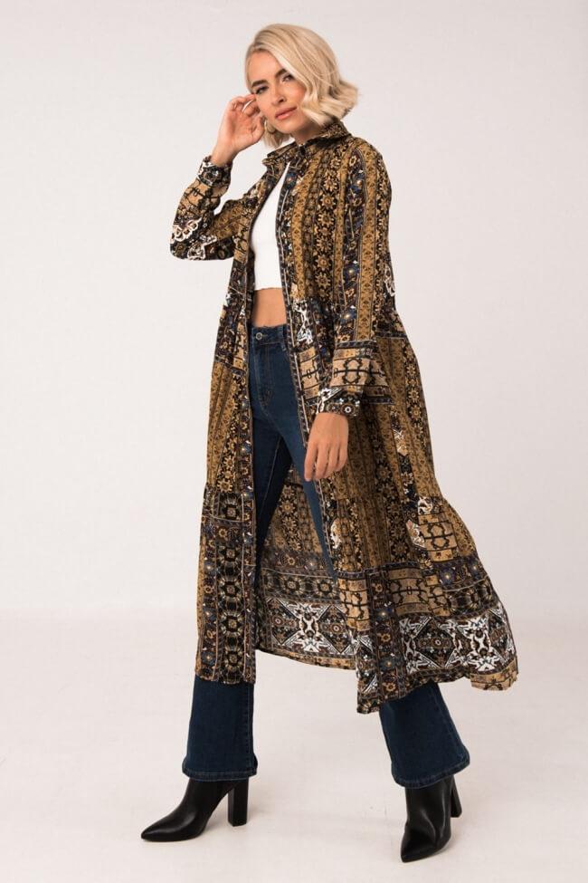 Φόρεμα με Ethnic Print