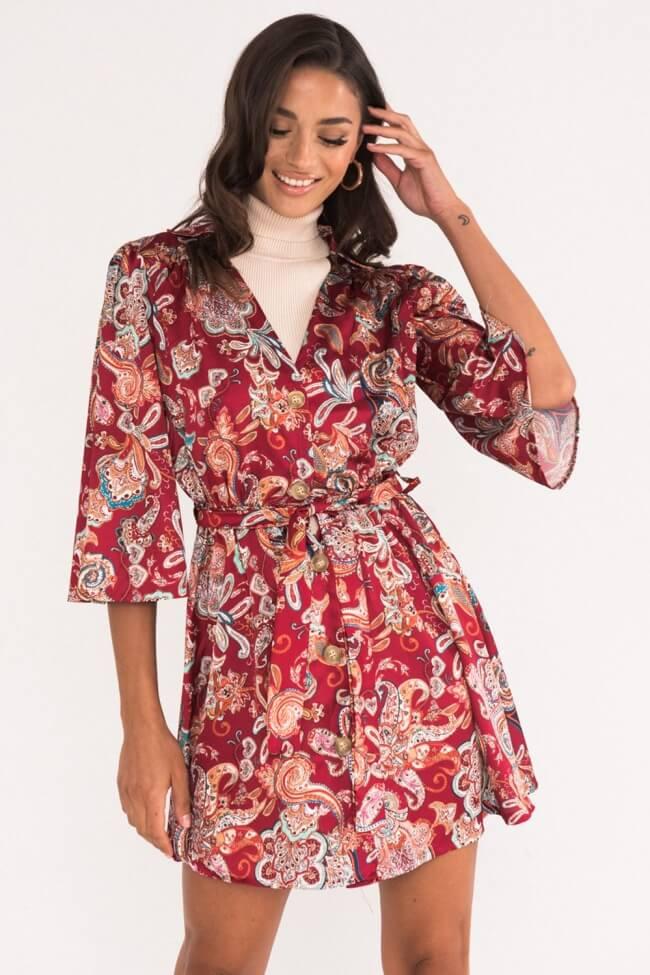 Φόρεμα με Κουμπιά σε Λαχούρ