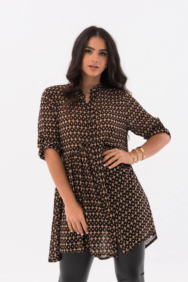 Φόρεμα με Μοτίβο