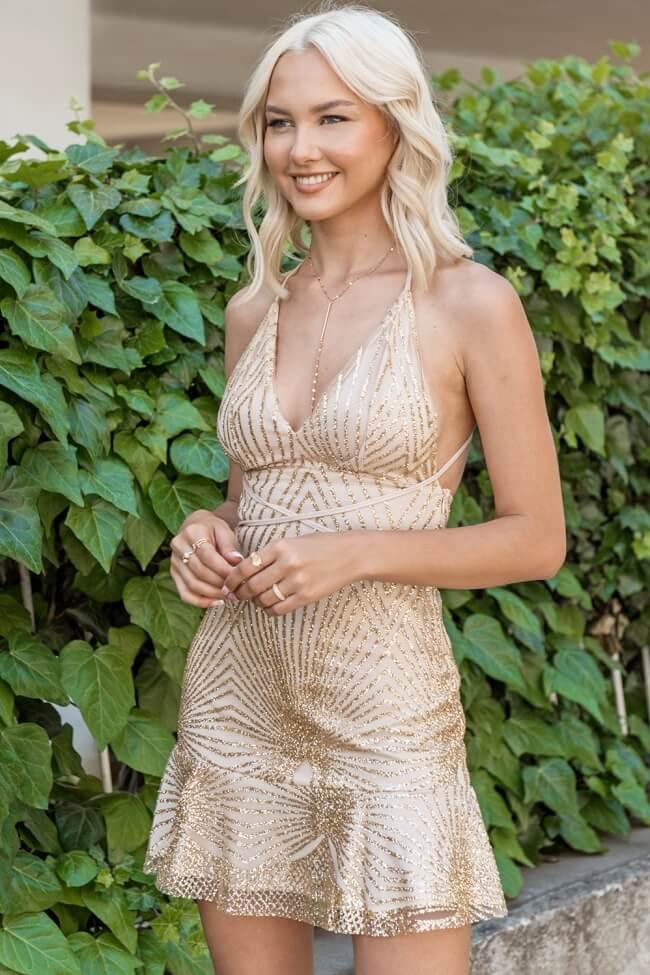 Φόρεμα με Τούλι και Glitter