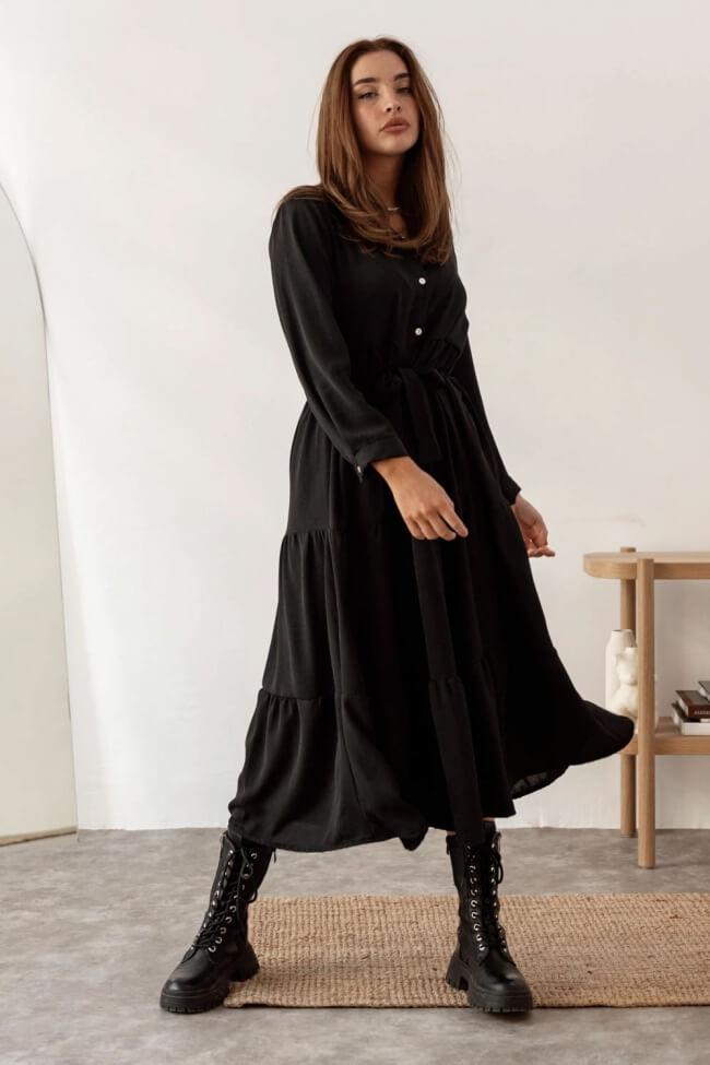 Φόρεμα με Ζωνάκι σε A-Line