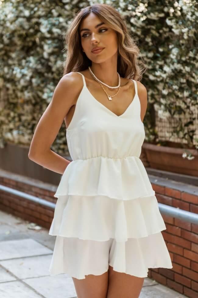 Φόρεμα Mini με Βολάν