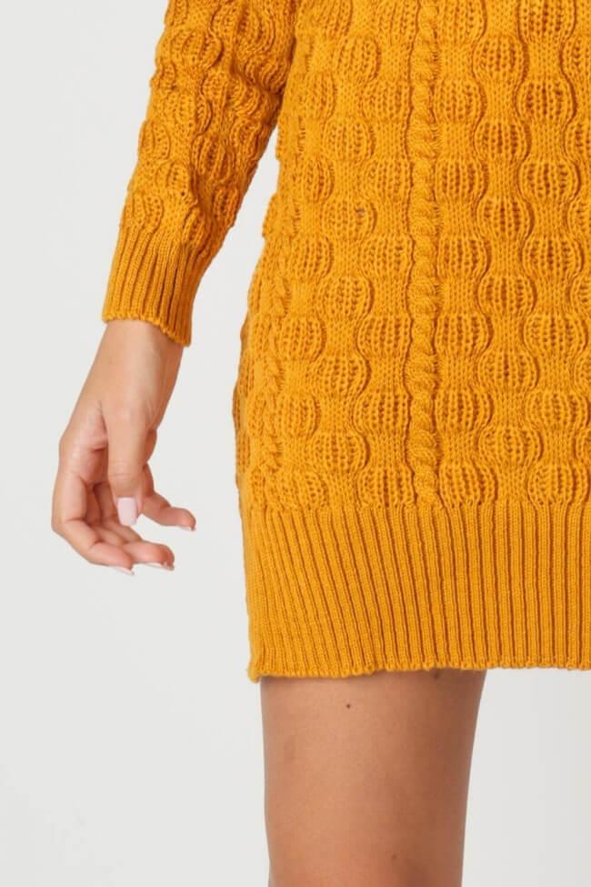 Φόρεμα Πλεκτό Cable Knit