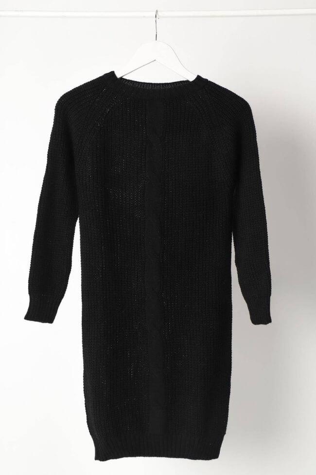 Φόρεμα Πλεκτό με Σχέδιο