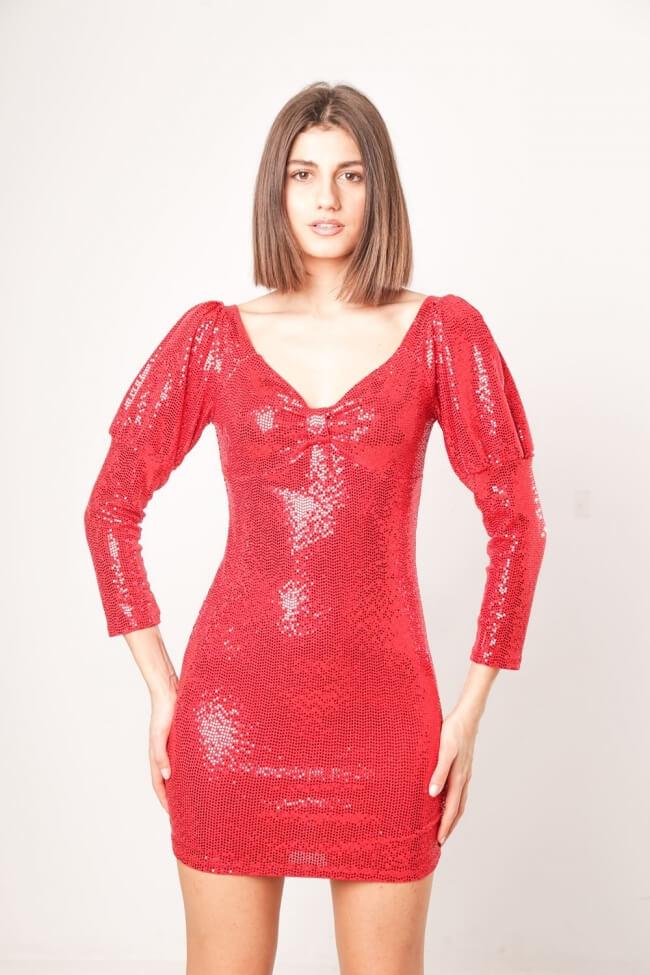 Φόρεμα Shiny Look