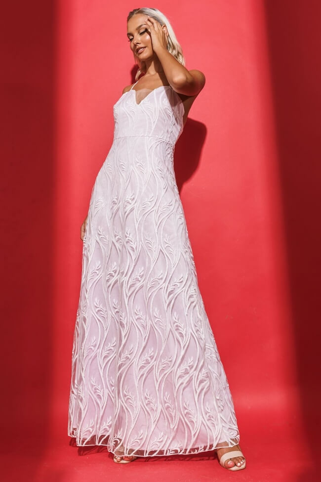 Φόρεμα Βραδινό με Δαντέλα