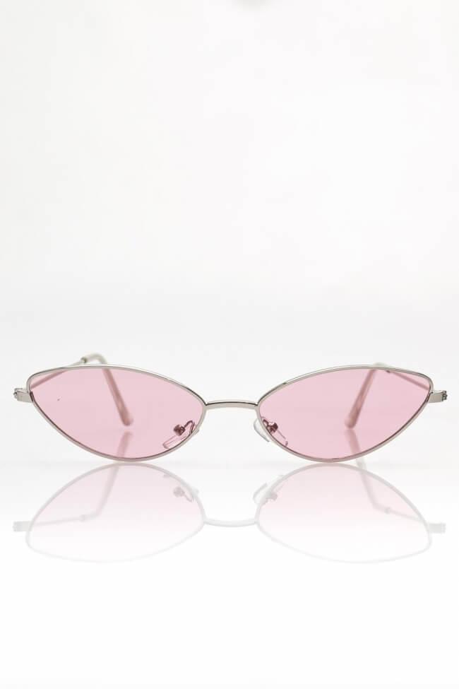 Γυαλιά Ηλίου Cat-Eye με Χρωματιστό Φακό