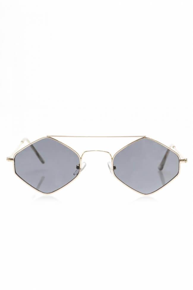 Γυαλιά Ηλίου με Πολυγωνικό Φακό