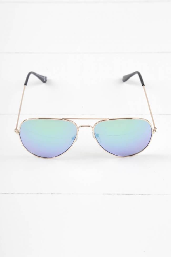 Γυαλιά Ηλίου με Χρώμα στο φακό