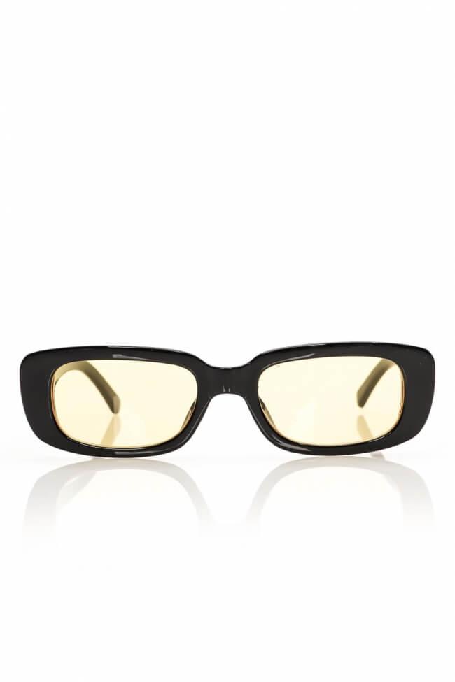 Γυαλιά Ηλίου Ορθογώνια με Χρωματιστό Φακό