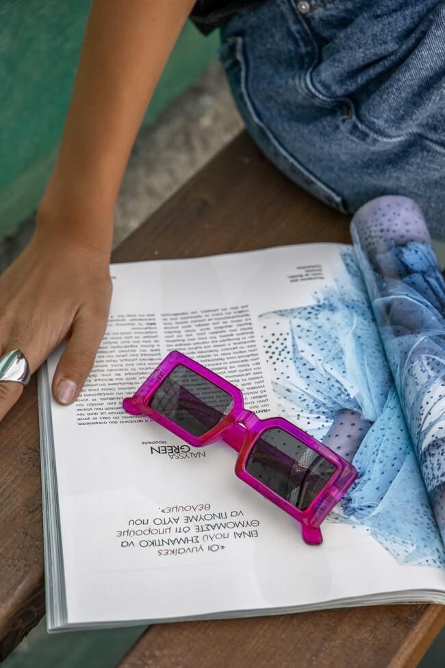 Γυαλιά Ηλίου Τετράγωνα