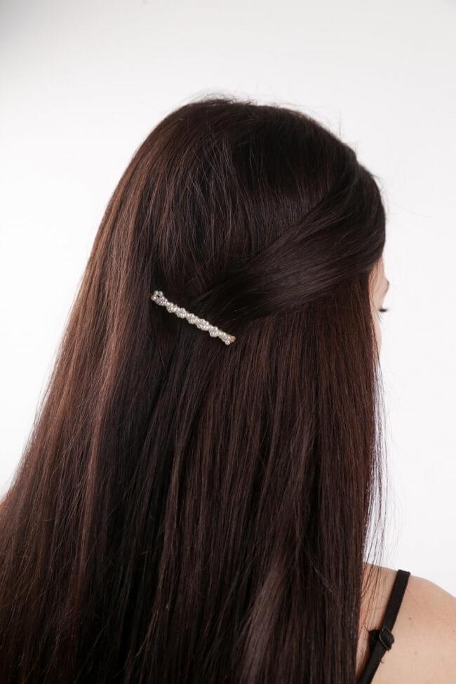 Hair Clip με Πέρλες