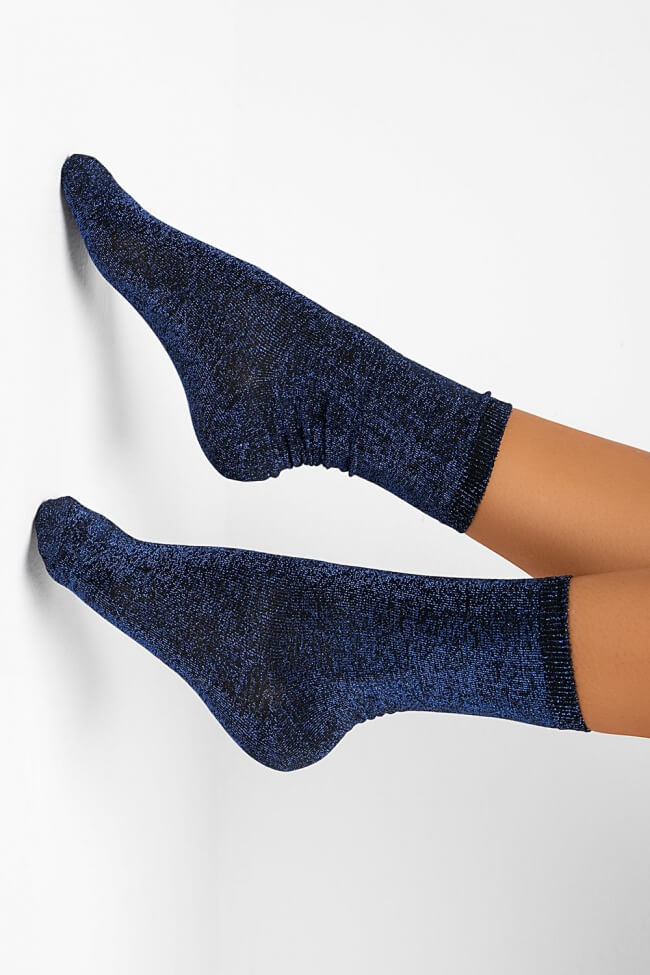 Ημίκοντες Κάλτσες με Glliter