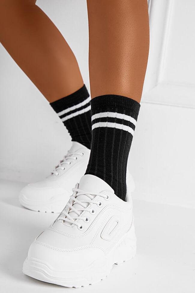 Ημίκοντες Κάλτσες με Ρίγα