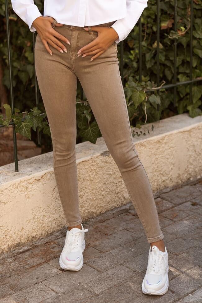 Jean Παντελόνι Skinny Ψηλόμεσο