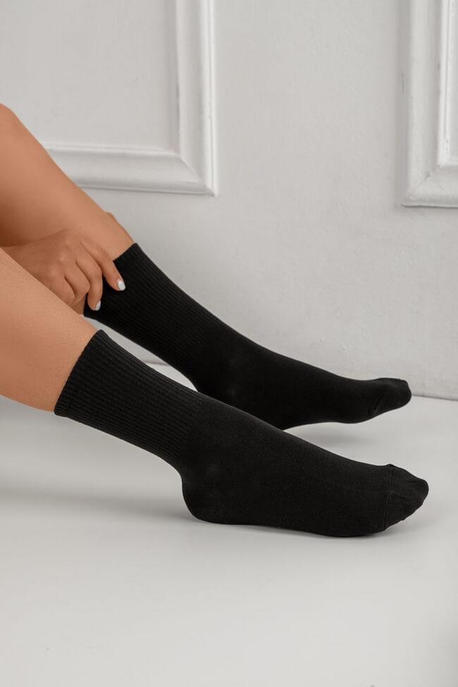 Κάλτσες Ημίκοντες Μονόχρωμες