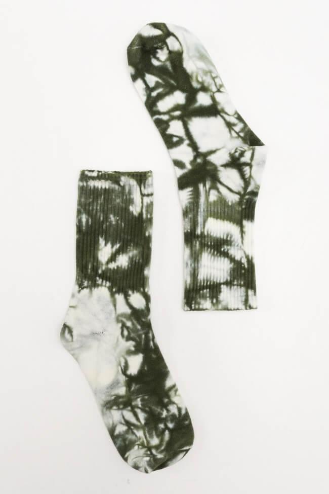 Κάλτσες Ημίκοντες Tie Dye