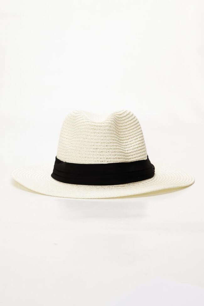 Καπέλο Ψάθινο Fedora