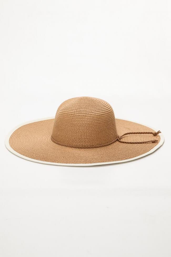 Καπέλο Ψάθινο Floppy