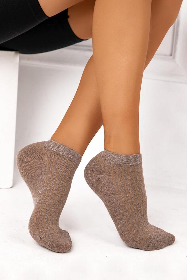 Κοντές Κάλτσες Μονόχρωμες