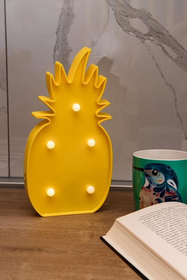Led Διακοσμητικό Φωτιστικό Ananas